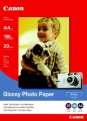 Canon A4 Glossy Photo Paper (190gsm/20 Sheets) GP401