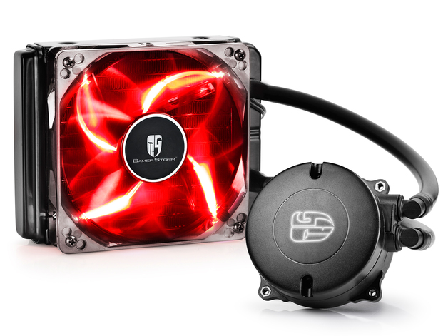 Deepcool: Maelstrom 120T Liquid Cooling System - Red