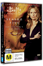 Buffy - The Vampire Slayer: Season 5 (6 Disc Set) on DVD image