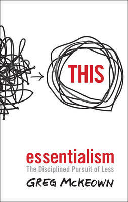 Essentialism by Greg McKeown image