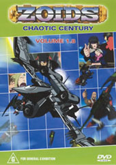 Zoids (Chaotic Century) Vol  1.8 on DVD