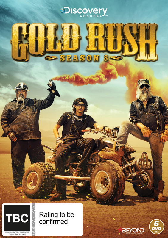 gold rush season 8 dvd buy now at mighty ape australia. Black Bedroom Furniture Sets. Home Design Ideas