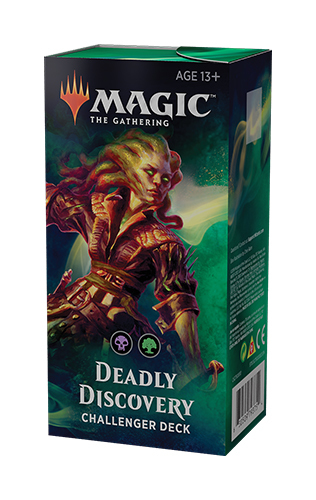 Magic The Gathering Challenger Decks 2019: Deadly Discovery