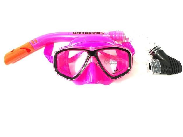 Clearwater Pink Mask/Snorkel Set