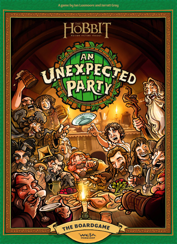 The Hobbit: An Unexpected Party - Board game