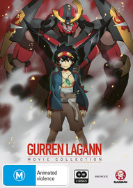 Gurren Lagann - Movie Collection (2 Disc Set) on DVD