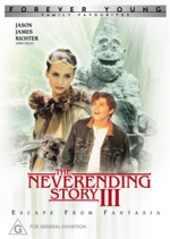 NeverEnding Story III, The - Escape From Fantasia on DVD