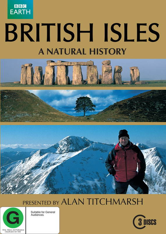 British Isles: A Natural History (3 Disc) on DVD