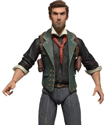 """Bioshock Infinite Booker DeWitt 7"""" Action Figure"""