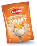 EasiYo Gourmet Range Vanilla Peach & Bits
