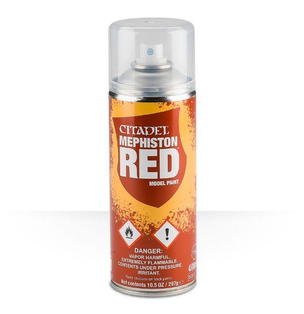 Citadel Spray Paint - Mephiston Red image
