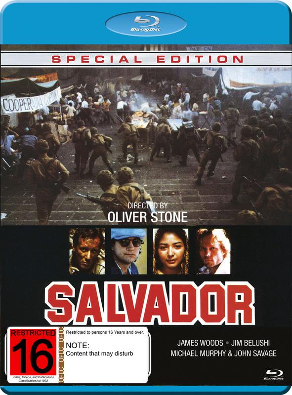 Salvador - Special Edition on Blu-ray