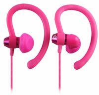 Moki 90 degree Sports Earphones - Pink