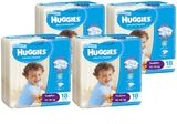 Huggies Ultra Dry Nappies Convenience Shipper: Toddler Boy 10-15 kg (72)