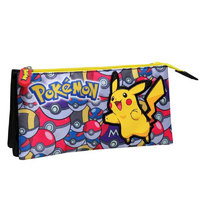 Pokemon Pencil Case (Pikachu, 22 cm)