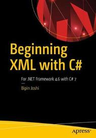 Beginning XML with C# 7 by Bipin Joshi image