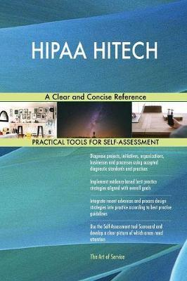 Hipaa Hitech a Clear and Concise Reference by Gerardus Blokdyk image