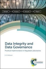 Data Integrity and Data Governance by R.D. McDowall image