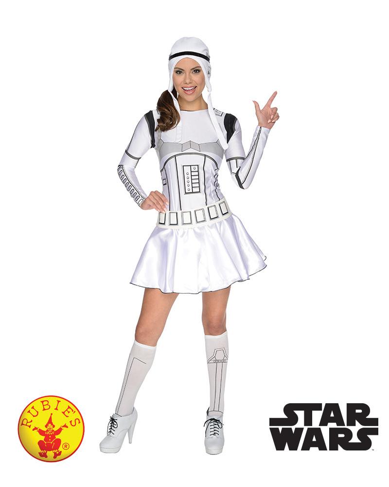 Star Wars: Stormtrooper - Women's Costume (Small) image