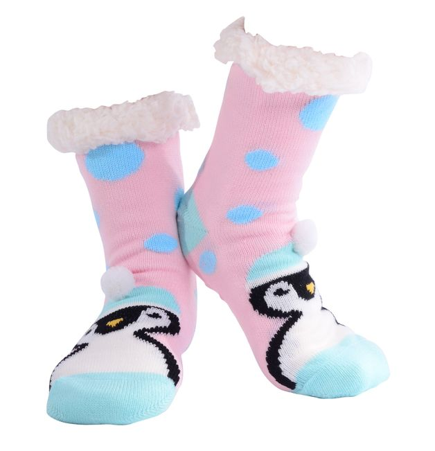 Nuzzles Ladies Penguin Pom Pom - Assorted Colours
