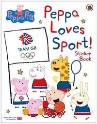 Peppa Pig: Peppa Loves Sport! Sticker Book by Peppa Pig