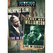 Blues Legends - Memphis Slim and Sonny Boy Williamson Live in Europe on DVD