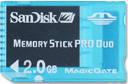 SanDisk Gaming Memory Stick Pro Duo 2GB (Blue)