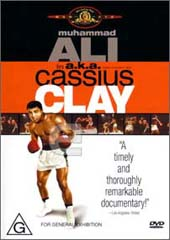 AKA Cassius Clay (Muhammad Ali) on DVD