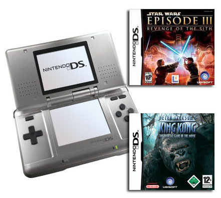 Nintendo DS + King Kong & Star Wars: Episode III for Nintendo DS