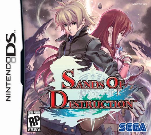 Sands of Destruction for Nintendo DS