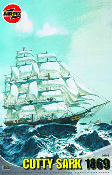 Airfix Cutty Sark 1869 1:130 kit