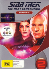 Star Trek - Next Generation: Season 2 (6 Disc Box Set) (New Packaging) on DVD