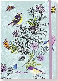 Summer Songbirds Address Book