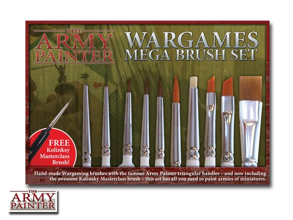 Army Painter Mega Brush Set image