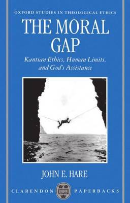 The Moral Gap by John E Hare image