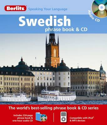 Swedish Berlitz Phrase Book and CD