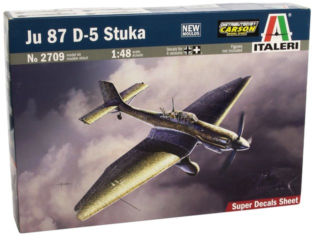 Italeri: 1/48 JU-87 D5 Stuka - Model Kit