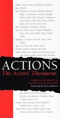 Actions: The Actors' Thesaurus by Marina Calderone