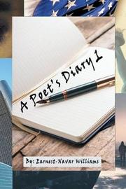 A Poet's Diary 1 by Earnest Navar Williams image