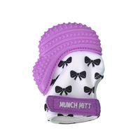Munch Mitt - Purple Bows image