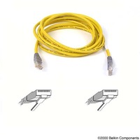 Belkin 2m Yellow CAT6 Snagless Patch Cable image