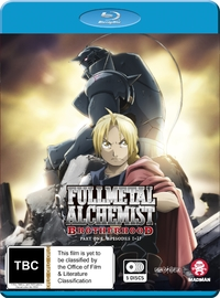 Fullmetal Alchemist: Brotherhood - Part 1 (Eps 1-33) on Blu-ray