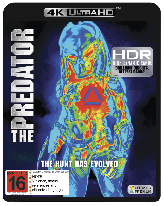 The Predator (2018) on UHD Blu-ray