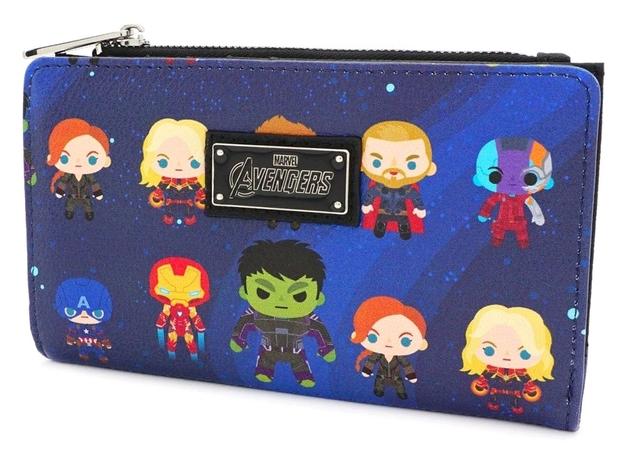 Loungefly: Avengers Endgame - Chibi Print Mini Wallet