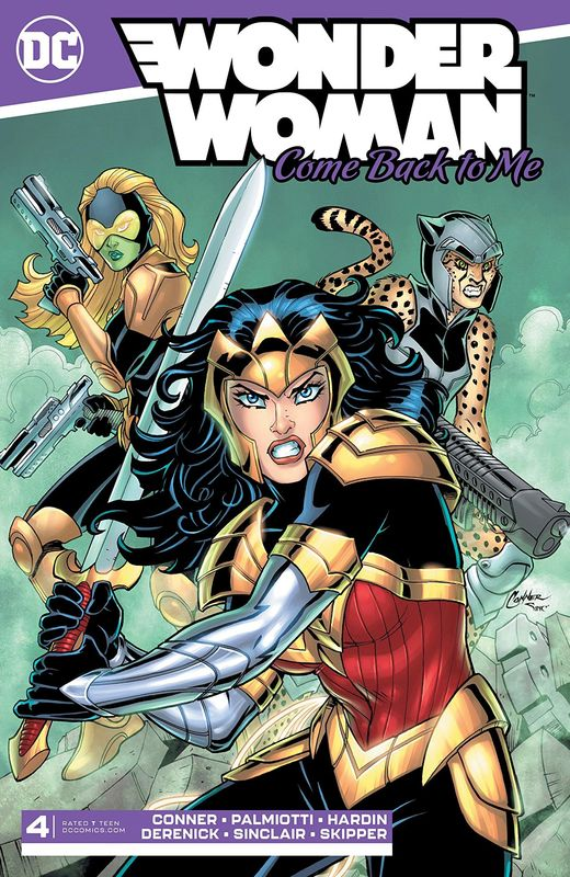 Wonder Woman: Come Back To Me - #4 (Cover A) by Amanda Conner