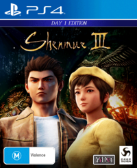 Shenmue 3 Day 1 Edition for PS4