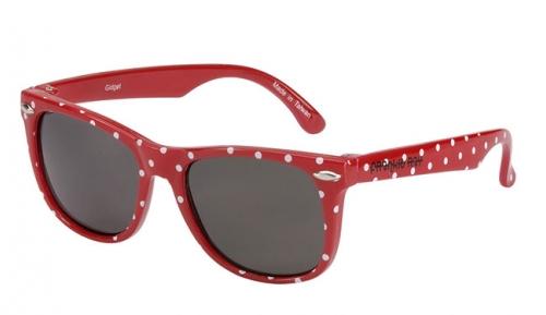 Frankie Ray: 3-Yrs Sunglasses - Gidget Spots (Red) image