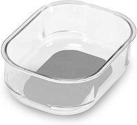 Madesmart: Clear Soft Grip Bin image