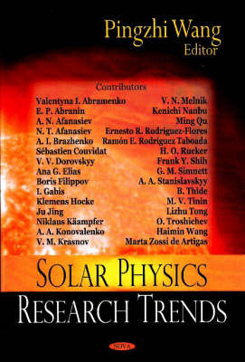 Solar Physics Research Trends by Pingzhi Wang image