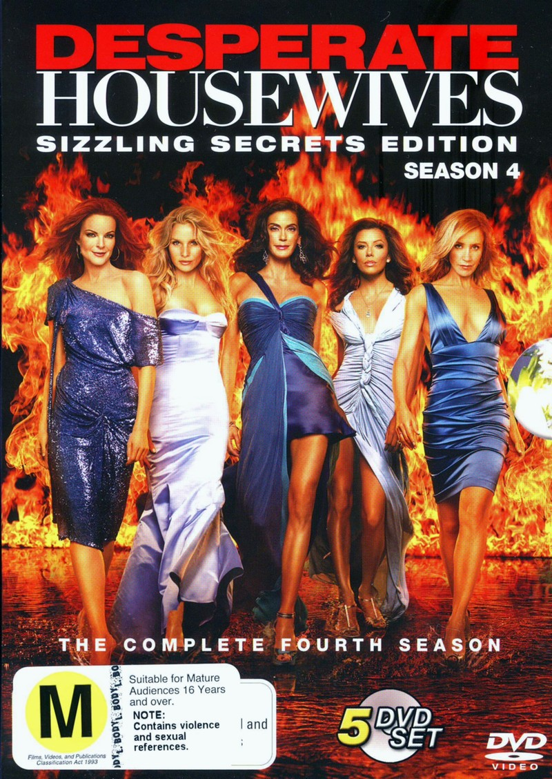 Desperate Housewives - The Complete 4th Season (5 Disc Set) on DVD image